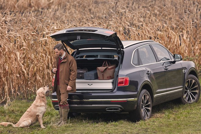 Авто Bentley Bentayga Field Sports от Mulliner