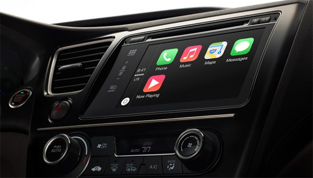 CarPlay: iOS доставит на автомобили